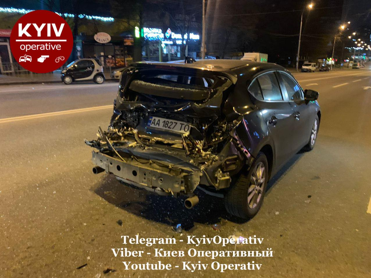 Київ: п'яний водій бетономішалки вчинив ДТП - травмування, п'яний водій, вантажівка, алкогольне сп'яніння - 128703311 1149867442076007 342493348802300443 o
