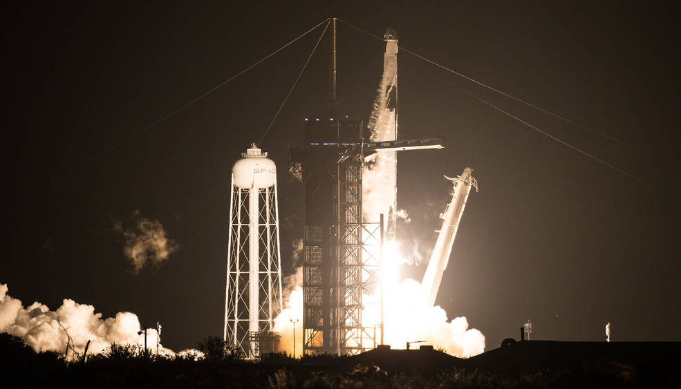 SpaceX здійснила другий пілотований запуск до МКС - НАСА NASA, МКС, SpaceX, NASA - 16 nasa