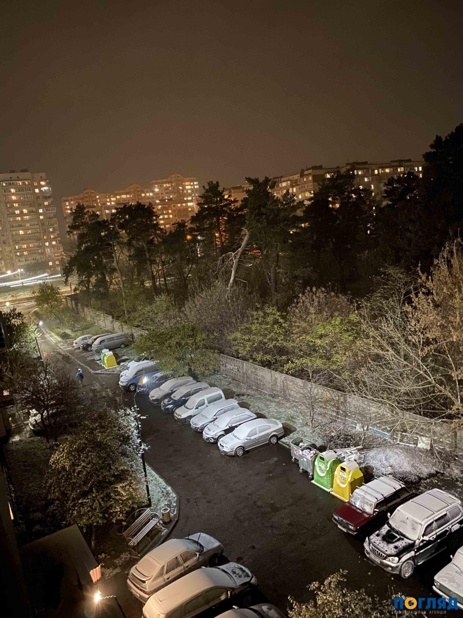 Засніжило: на Київщині випав перший сніг (ФОТО) - сніг, погода, перший сніг - 17 sneg Ukraynka 1500x2000