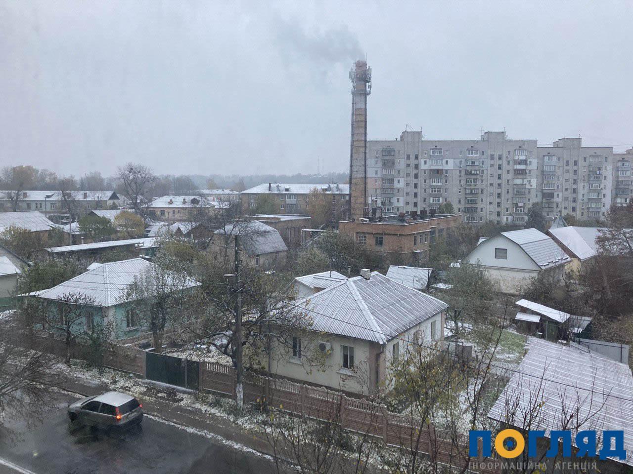 Засніжило: на Київщині випав перший сніг (ФОТО) - сніг, погода, перший сніг - 17 sneg Vasylkov 2