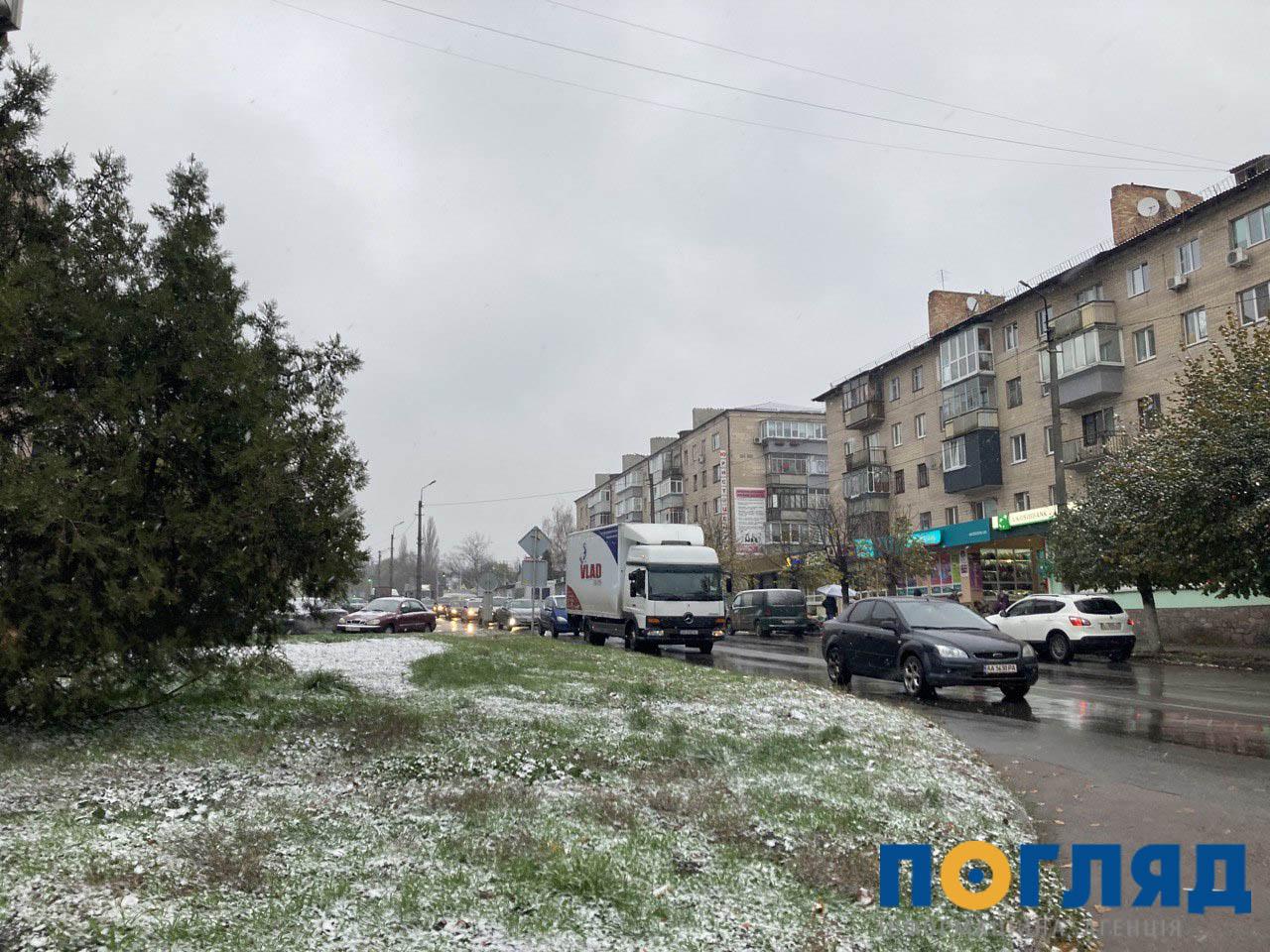 Засніжило: на Київщині випав перший сніг (ФОТО) - сніг, погода, перший сніг - 17 sneg Vasylkov