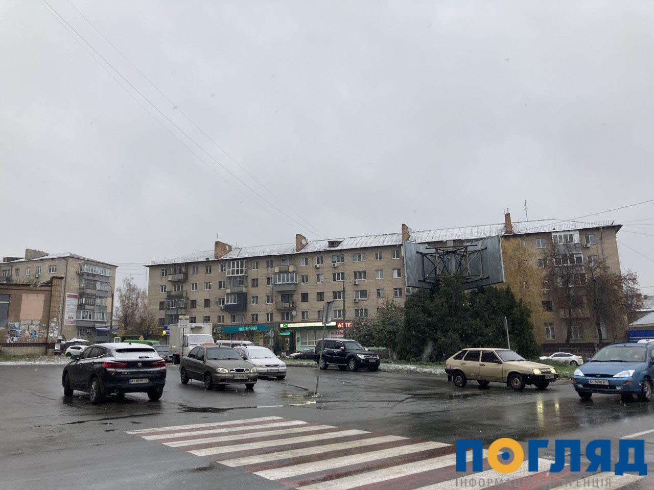 Засніжило: на Київщині випав перший сніг (ФОТО) - сніг, погода, перший сніг - 17 sneg Vasylkov2