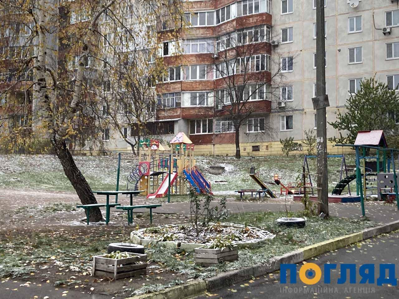 Засніжило: на Київщині випав перший сніг (ФОТО) - сніг, погода, перший сніг - 17 sneg Vasylkov3