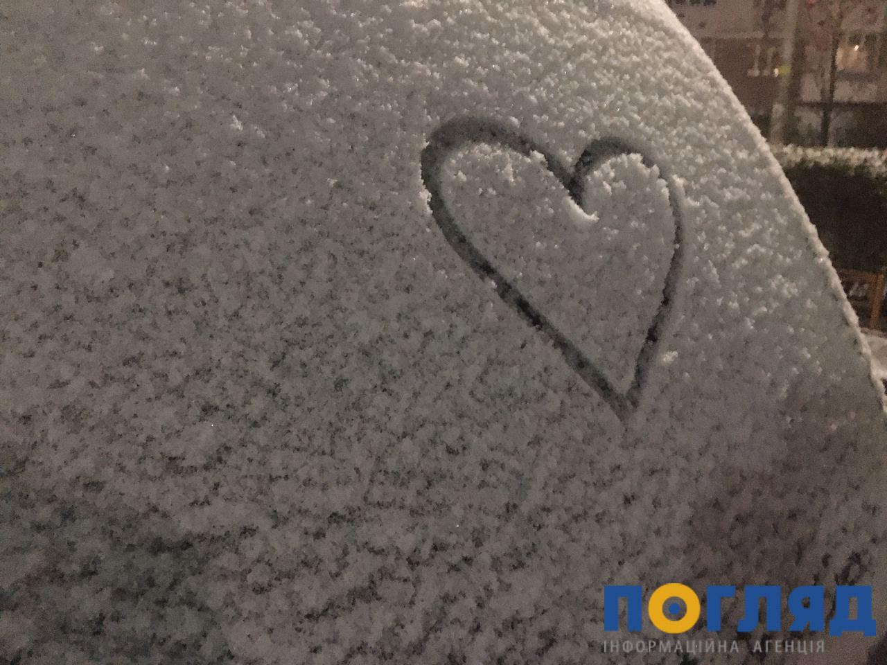 Засніжило: на Київщині випав перший сніг (ФОТО) - сніг, погода, перший сніг - 17 sneg bucha10