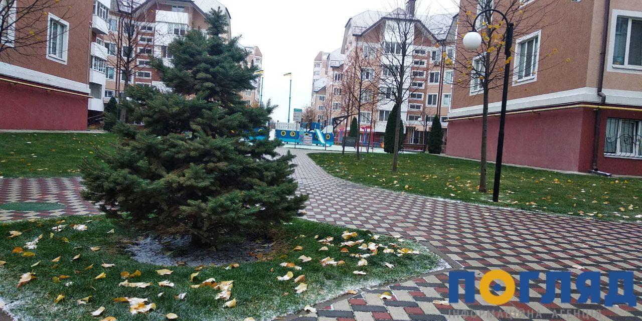 Засніжило: на Київщині випав перший сніг (ФОТО) - сніг, погода, перший сніг - 17 sneg bucha6