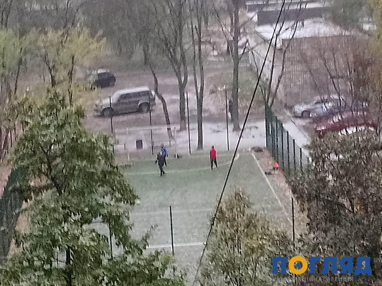 Засніжило: на Київщині випав перший сніг (ФОТО) - сніг, погода, перший сніг - 17 sneg kyev2