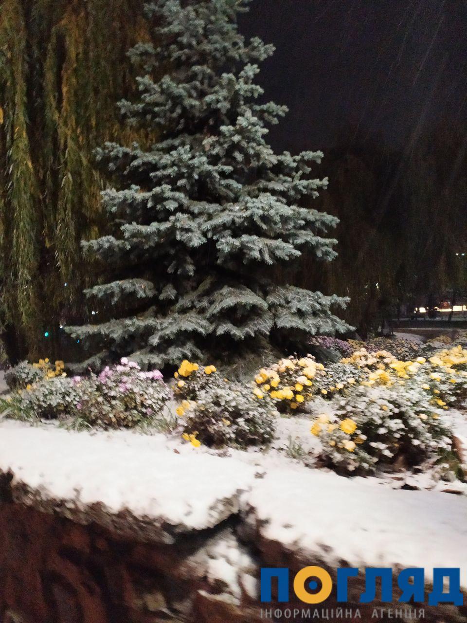 Засніжило: на Київщині випав перший сніг (ФОТО) - сніг, погода, перший сніг - 17 sneg obuhov2 1