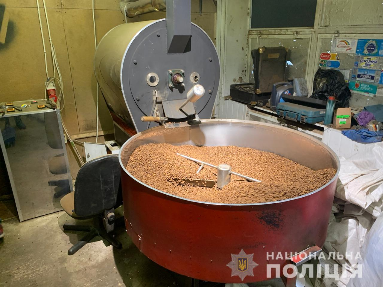 Нелегальна кава по-київськи: викрито підпільне виробництво - кава, бренди - 18.11.20cyberpolice