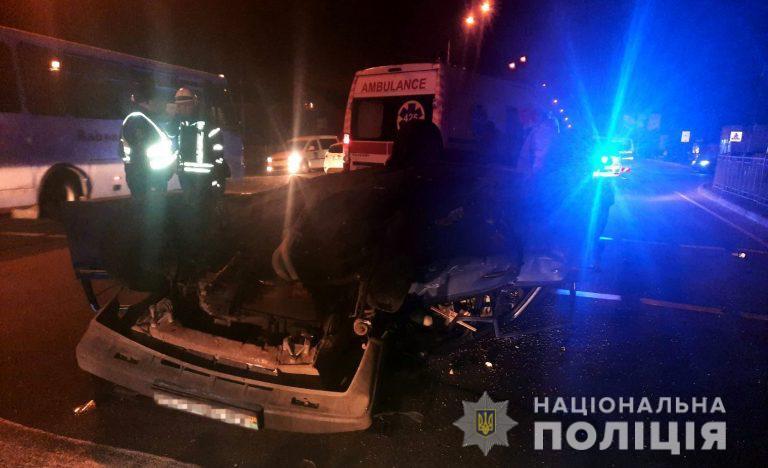 Одна людина загинула, п'ятеро травмовані у 6 ДТП на Київщині - смерть на дорозі, смертельна ДТП, смертельна аварія, ДТП з потерпілим, Аварія - DTP1