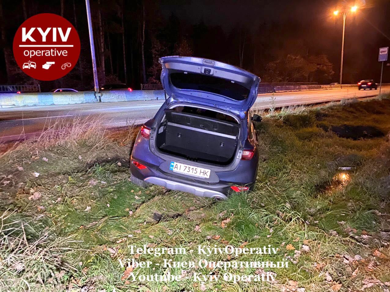 У Києві зіткнулися три автівки - Київ, ДТП - DTP4
