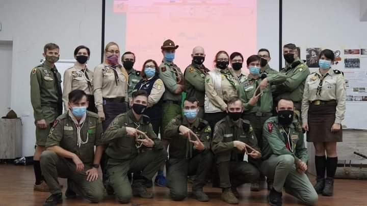 У Бучі триває всеукраїнський тренінг для волонтерів пласту - - FB IMG 1605450922843