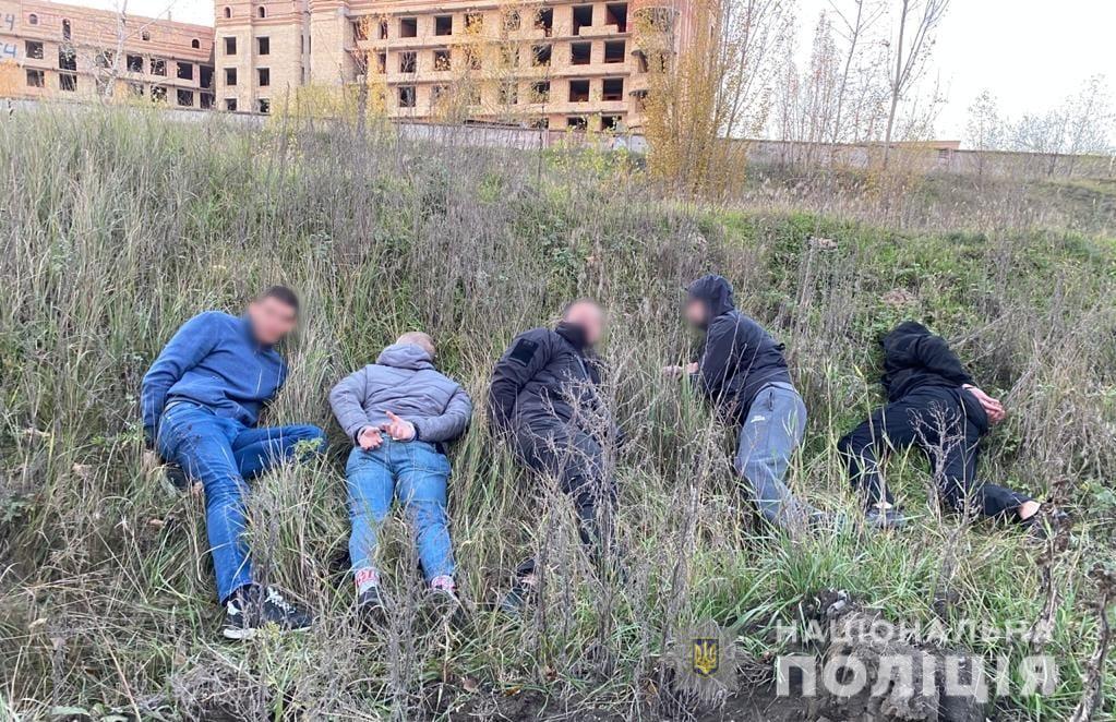 Стрілянина на Броварщині: затримано п'ятьох молодиків -  - HuliganstvoBrovary2