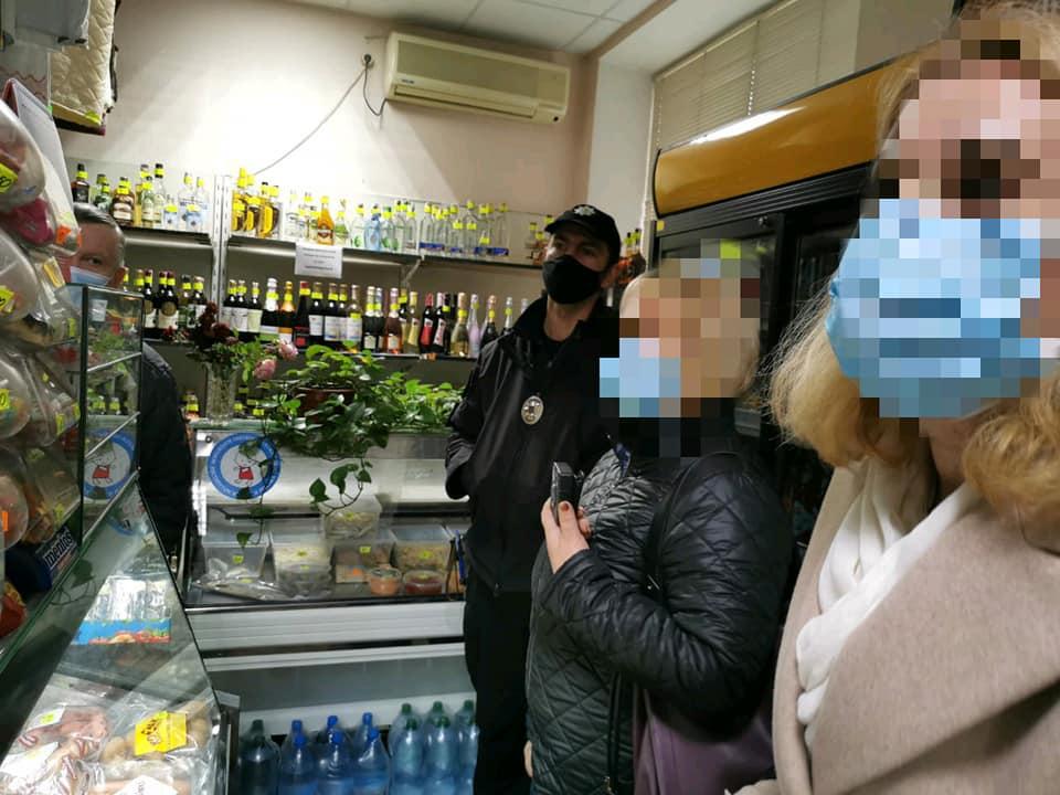 В Ірпені на порушників карантину склали протоколи - Приірпіння, порушення карантину, київщина, Ірпінський відділ поліції - Irp perev kar 1