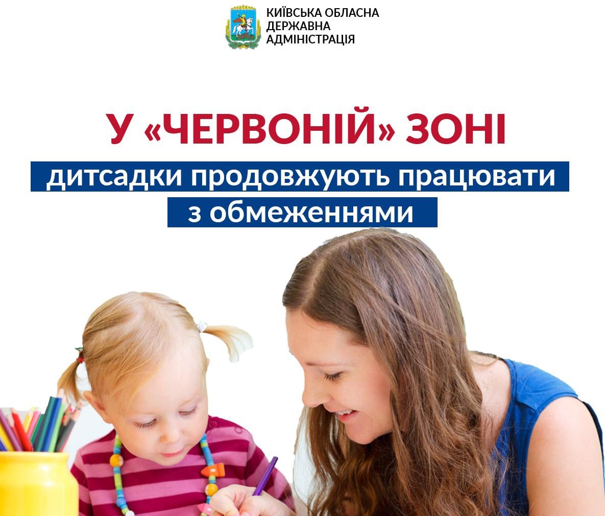 На Київщині дитсадки у «червоній» зоні функціонують - коронавірус, КОДА, карантин, дитсадок - KODA SADKY OBR