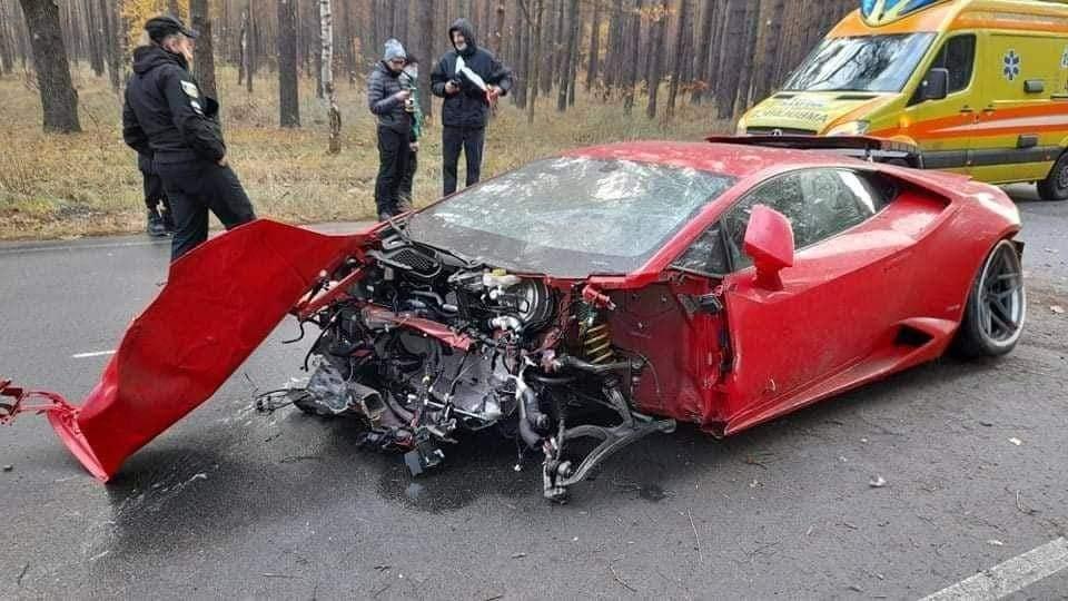Дороге кіно: на Вишгородщині розбився Ламборджині - ДТП, Вишгородський район, автомобілі - Lyutizh1