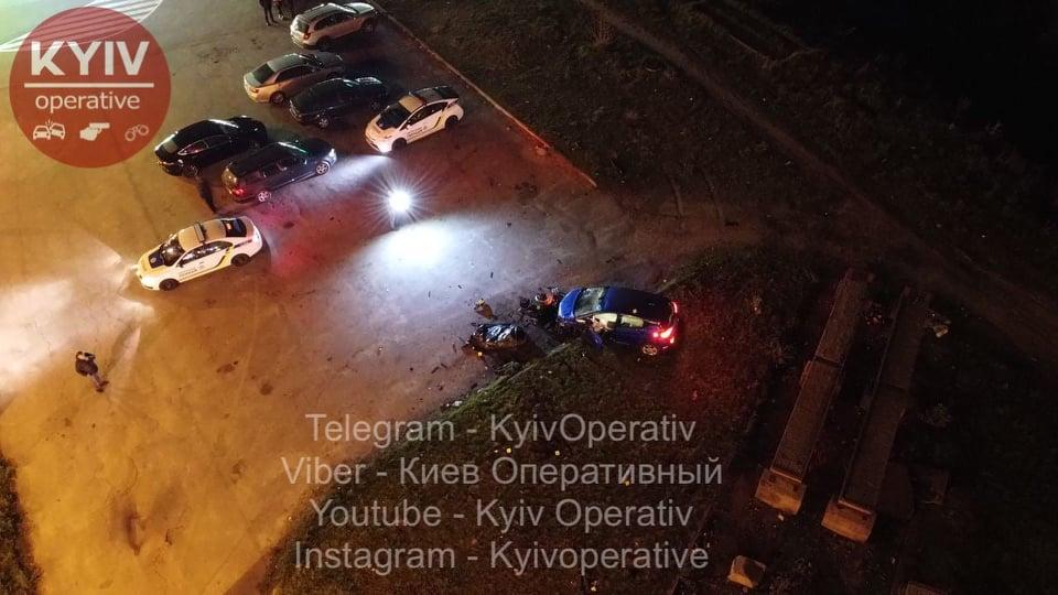 На Оболоні під колеса авто потрапила поліцейська - смерть, ДТП з потерпілим, Аварія на дорозі - Obolon1
