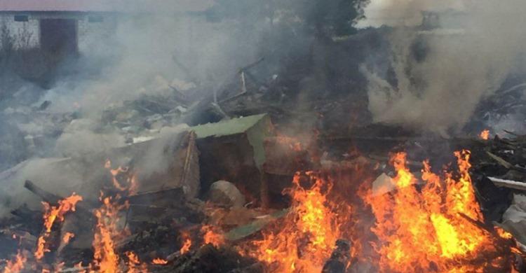 На Вишгородщині ліквідували сміттєву пожежу - пожежа, Вишгородський район - POZHKZHA