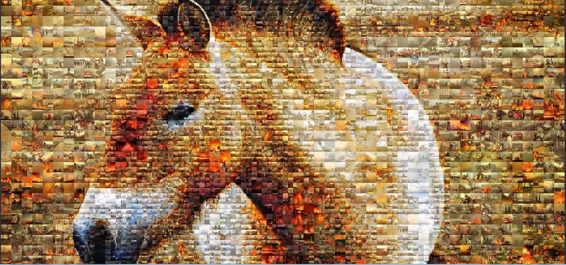 Подвиг українських вогнеборців вшанували створенням колажу - Тварини, музей, вогнеборці - Screenshot 35
