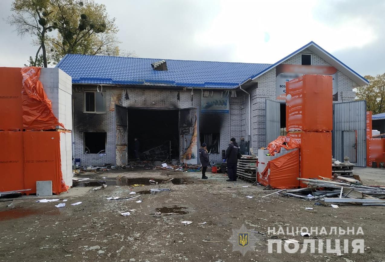 Через вибух у магазині Білої Церкви постраждали двоє працівників - вибух - VybuhBTS