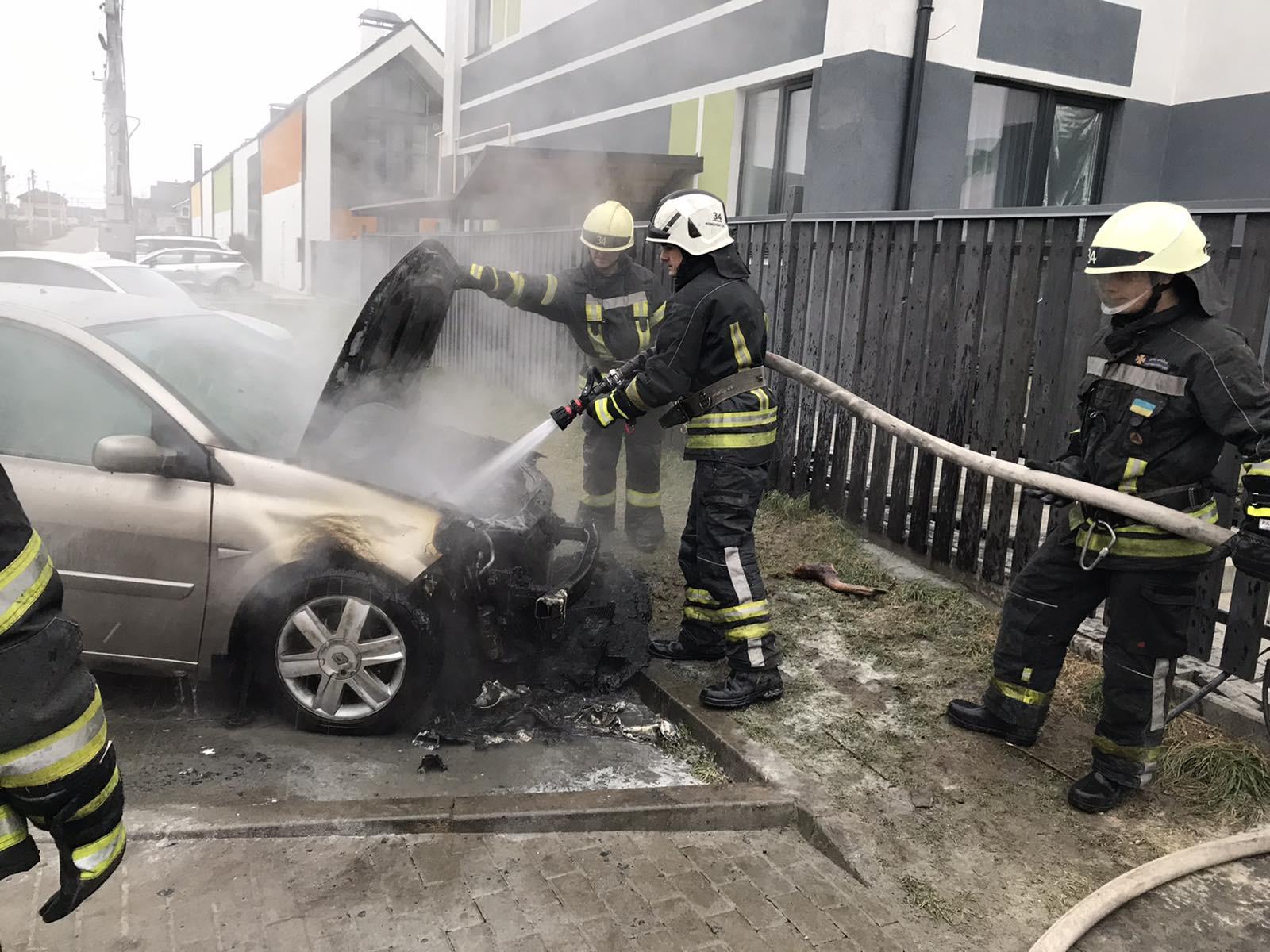 Дві пожежі за добу стались у Києво-Святошинському районі - Святопетрівське, Пожежа авто, Гатне - 0243E5D6 6DEF 4136 B0E2 93B811B57A96