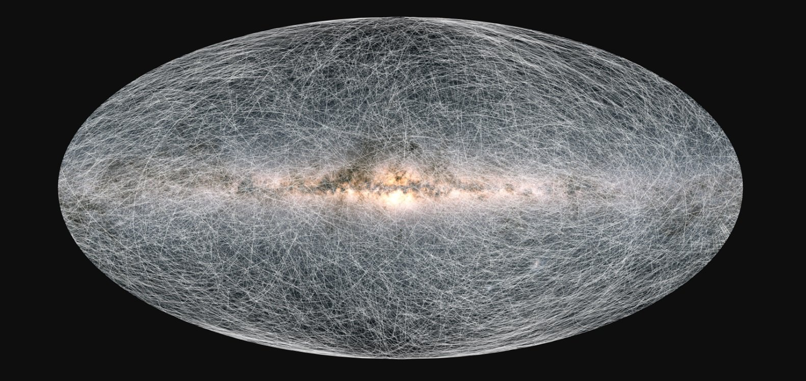 На нову мапу Чумацького Шляху нанесли майже 2 млрд зірок - Чумацький шлях, телескоп, Сонячна система, зірки, галактики, галактика - 06 karta