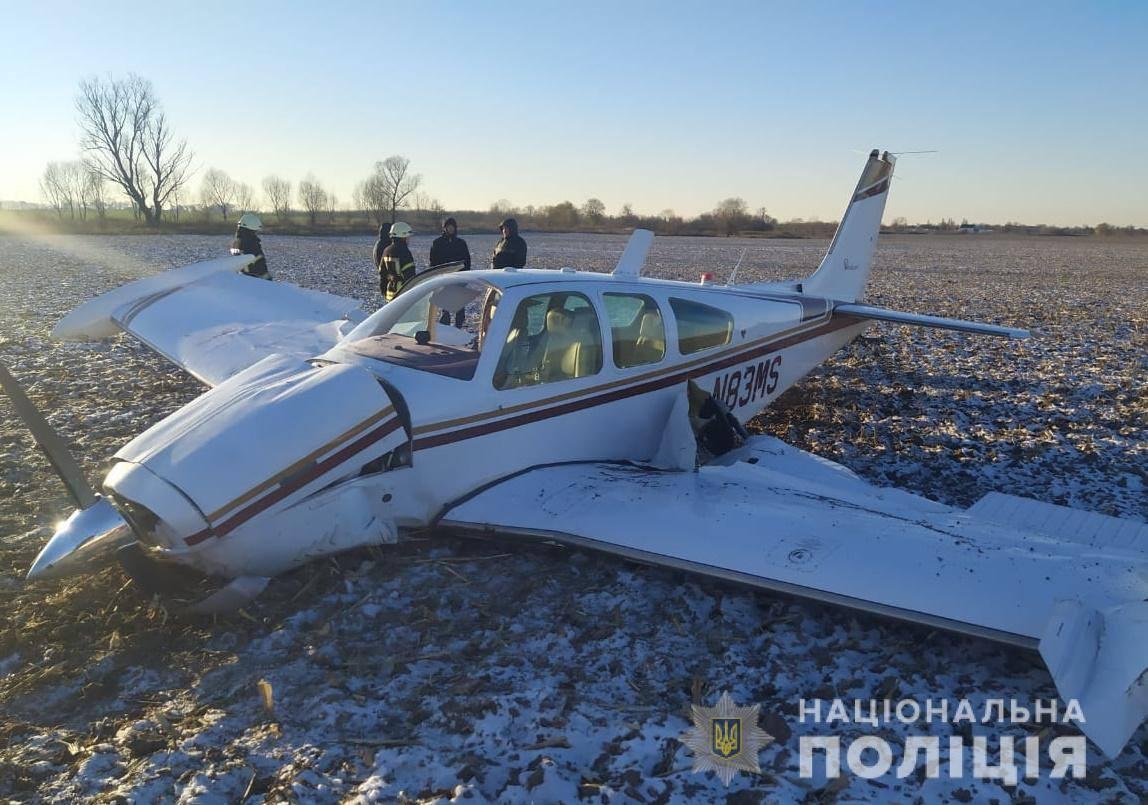 У Броварському районі впав літак: є постраждалі - постраждалі, літаки, Літак, Броварський район, авіакатастрофа - 06 samolet
