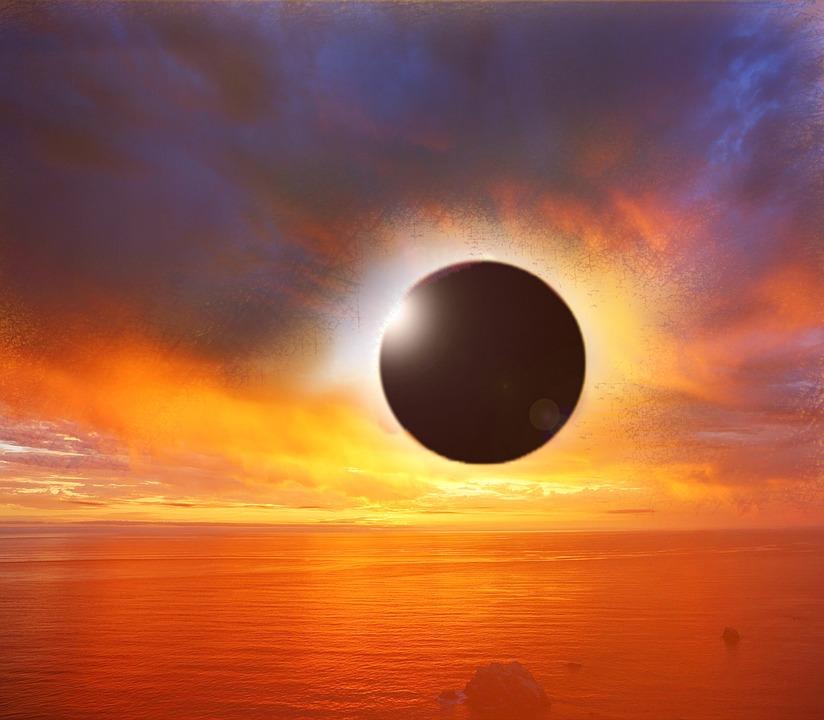 Затемнення, зорепад, газові гіганти та сонцестояння: чим здивує грудень–2020? - сонячне затемнення, Сонце, метеорит, зорепад, зірки, затемнення - 07 zatmenye