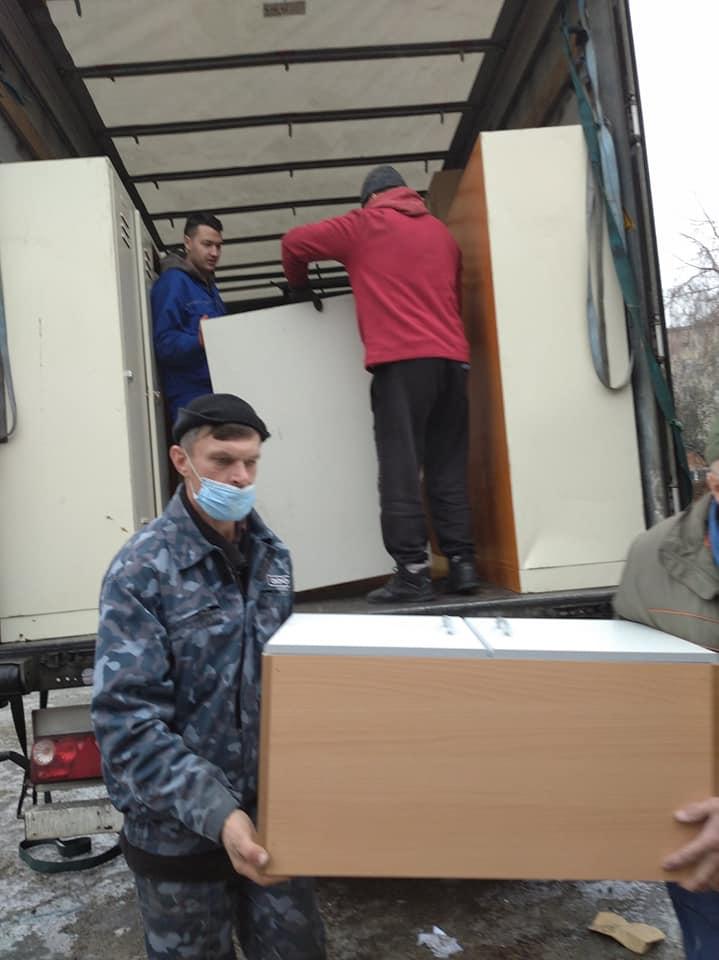 Меблі та інвентар отримала Білоцерківська лікарня №2 від благодійників - лікарня, гуманітарна допомога, благодійна допомога - 131683168 1023862654800860 3768767487764777133 n