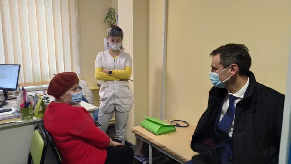 Головний лікар інспектував бориспільську первинку - перевірка, лікарня - 131819620 2198406986958080 1890789584546003461 n