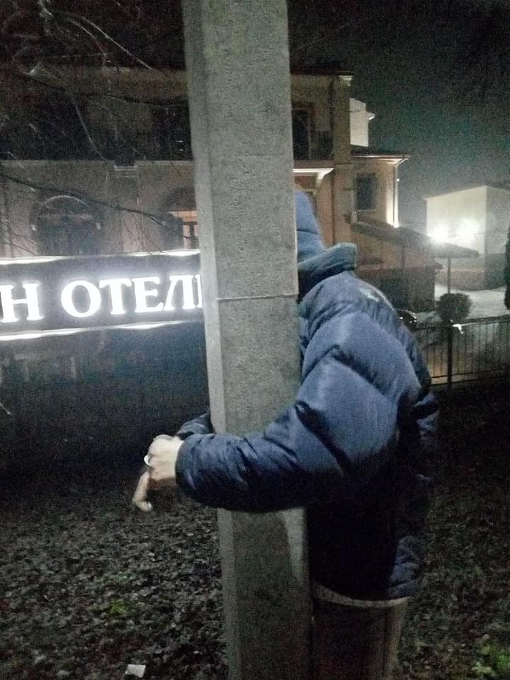 На Бориспільщині вандала спіймали під час злочину - підліток, вандалізм - 131920380 1029479907571969 8763885809194987649 n
