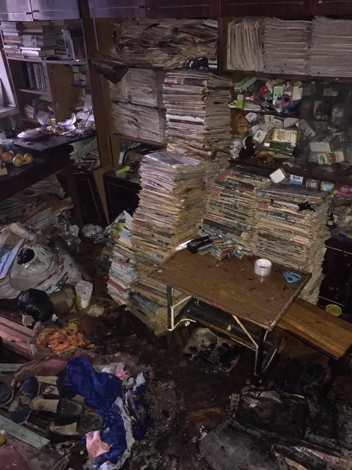 Крадіжки та пожежі: у Києві минулої доби було неспокійно - хуліганства, рятувальник, пожежники, крадіжки, вбивство - 132600046 3587479864665263 8075456549025148829 n