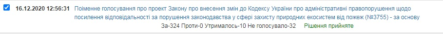 В Україні збільшать штрафи за пожежі в екосистемах - штрафи, пожежі в екосистемах, пожежі, законопроєкт, Верховна Рада - 16 zakon