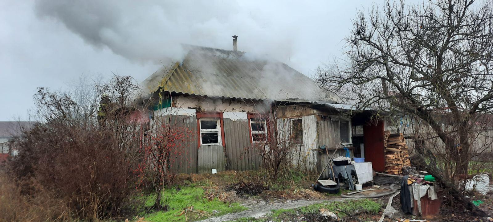 Дві пожежі за добу: у Борисполі горіли лазня та будинок - пожежа будинку, лазня, загорання - 23233 1