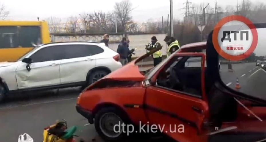 Аварія у Вишгороді: постраждала дружина водія-пенсіонера - ДТП, Вишгородський район, Аварія на дорозі - DTP1