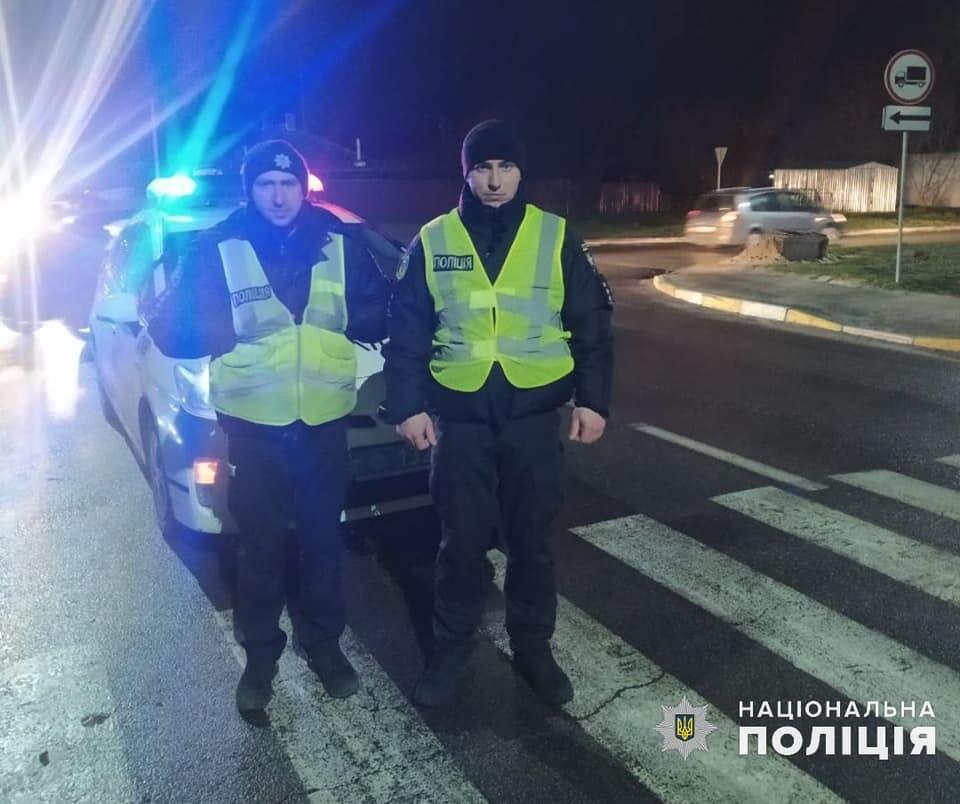 На Вишгородщині в ДТП постраждала дитина - ДТП з потерпілим, Димер, Вишгородський район - Dymer1