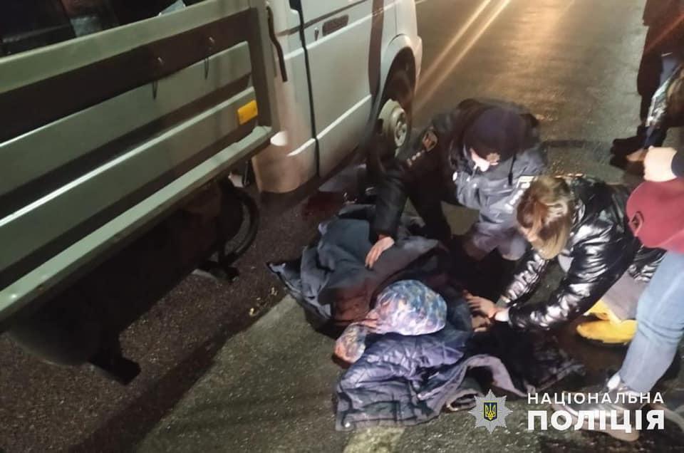 На Вишгородщині в ДТП постраждала дитина - ДТП з потерпілим, Димер, Вишгородський район - Dymer2