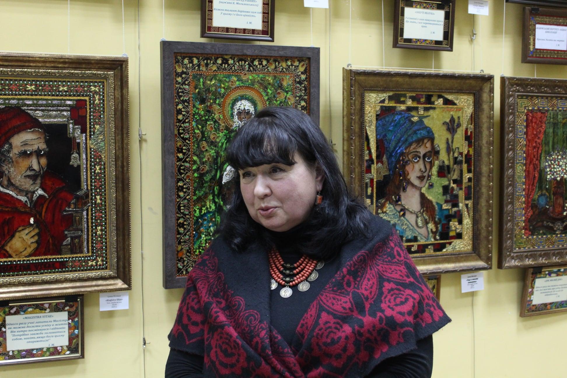 Карантинний живопис Ірини Мезері в Ірпені - Приірпіння, музей, Мистецтво, київщина, виставка - Mezerya