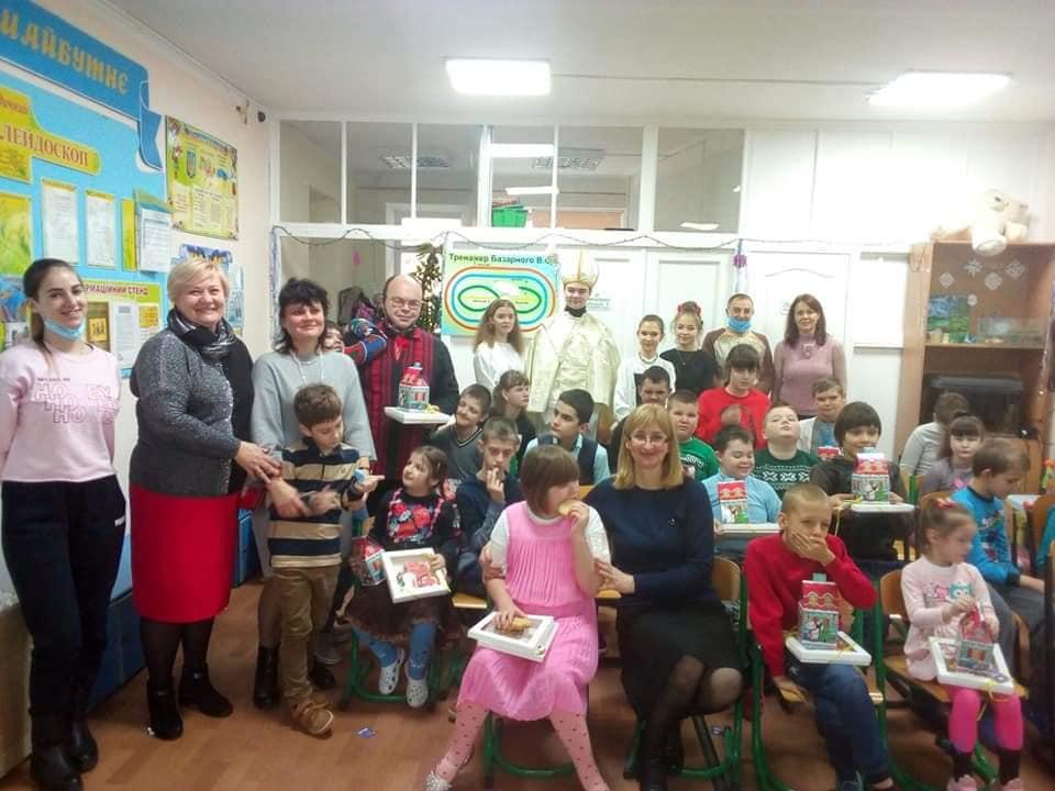 «Миколайчики» для особливих дітей Вишгородщини - школа, подарунки, Інклюзивна освіта - Nadiya2