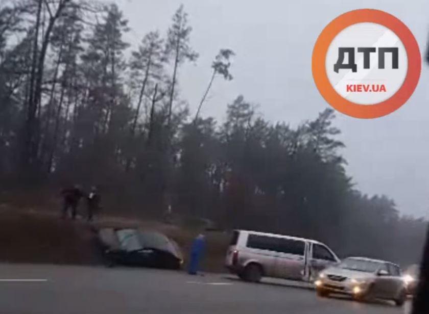 ДТП на Новоірпінській трасі: пошкоджено декілька авто - Приірпіння, київщина, Ірпінська ОТГ, ДТП - Novoirp avar 1