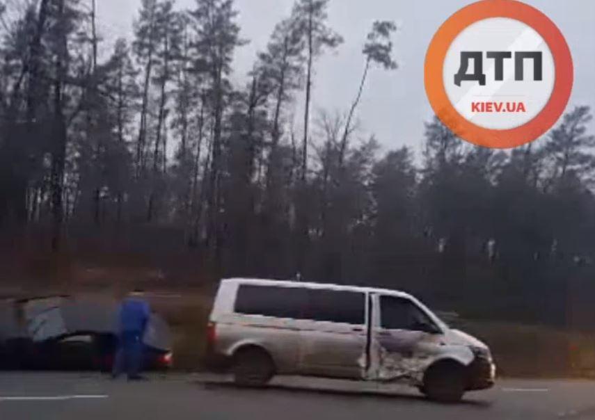 ДТП на Новоірпінській трасі: пошкоджено декілька авто - Приірпіння, київщина, Ірпінська ОТГ, ДТП - Novoirp avar 2