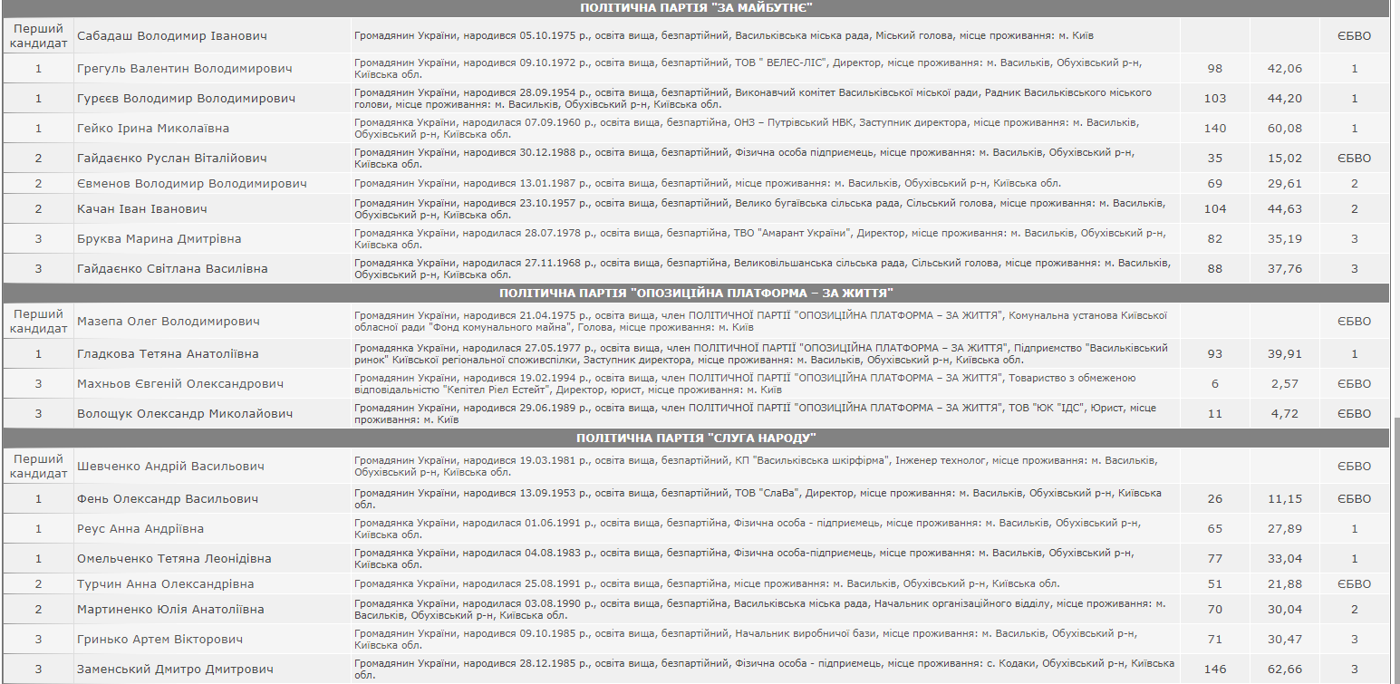 У Василькові представили новообраних голову і депутатів - Міський голова, Депутати, Влада, вибори - Snymok ekrana 734
