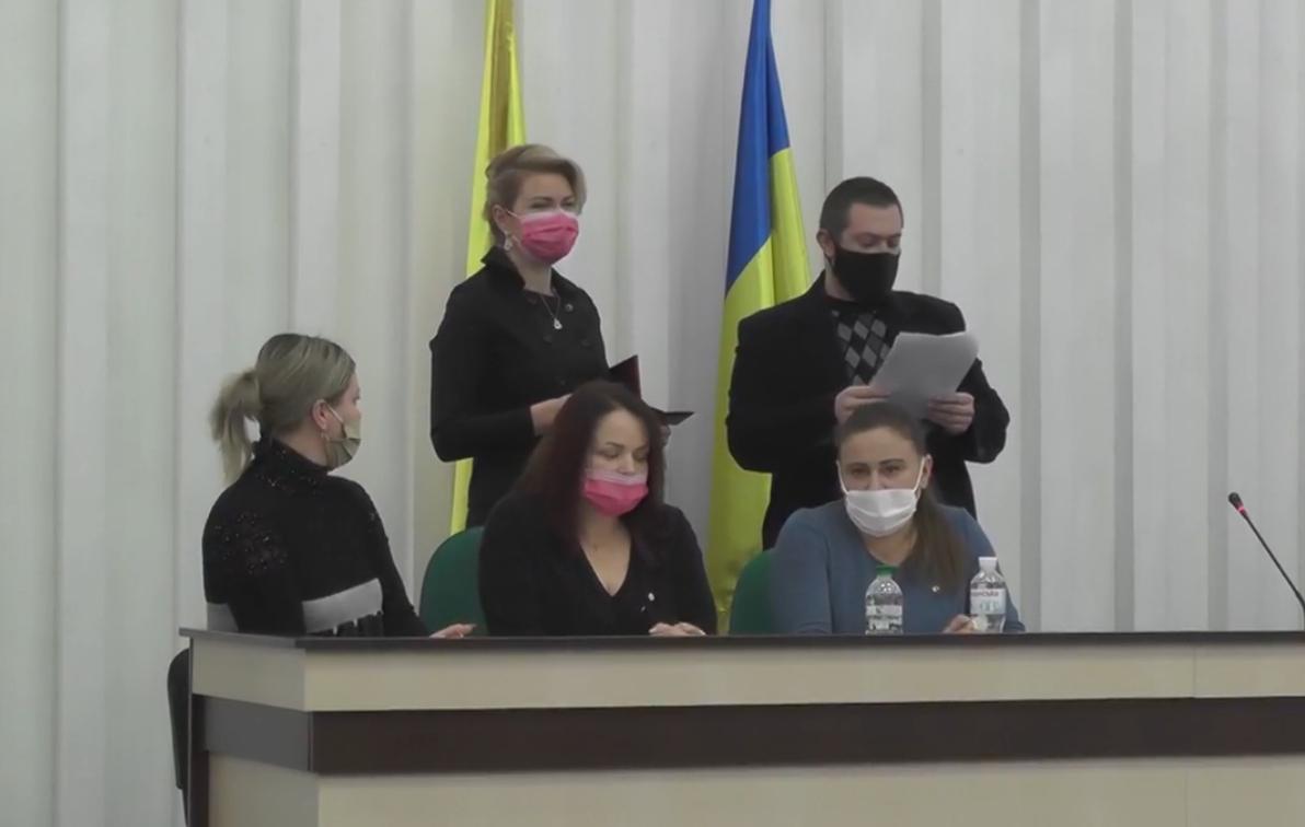 У Василькові представили новообраних голову і депутатів - Міський голова, Депутати, Влада, вибори - Snymok ekrana 740