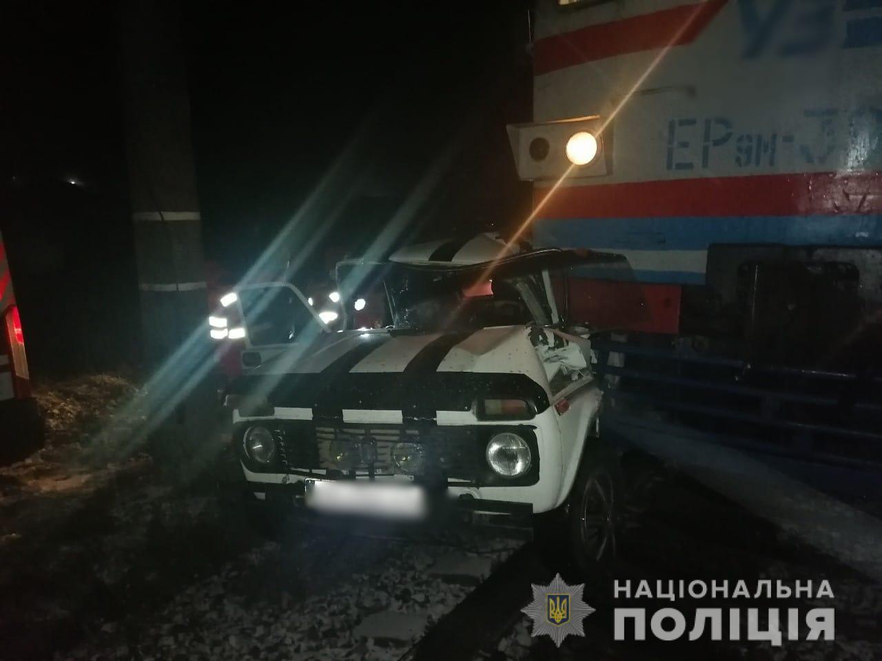 Білоцерківщина: водій легковика напідпитку зіткнувся з електровозом - зіткнення, електрички, алкогольне сп'яніння - avaryya 2