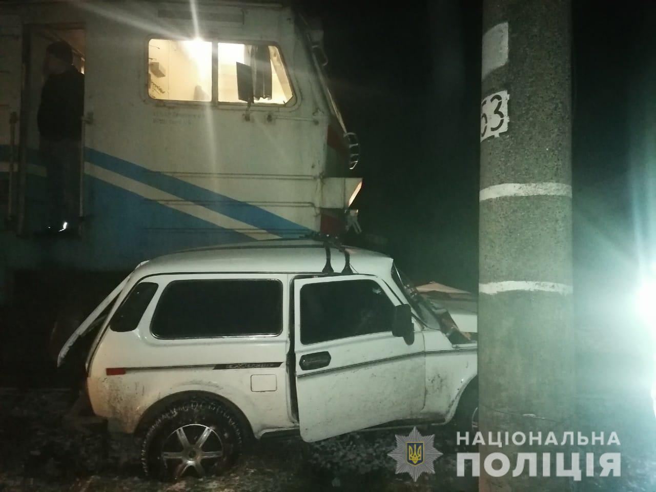 Білоцерківщина: водій легковика напідпитку зіткнувся з електровозом - зіткнення, електрички, алкогольне сп'яніння - avaryya