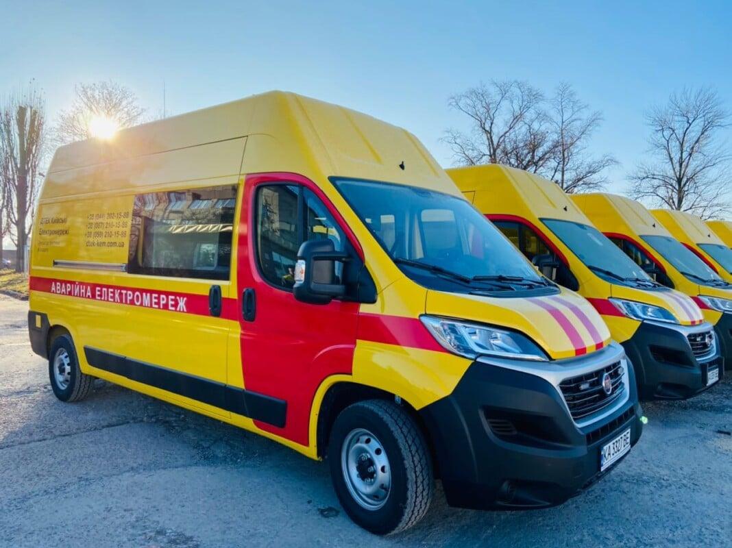 Енергетики Києва отримали нові спецмашини - техніка, машина, автомобілі - car 1