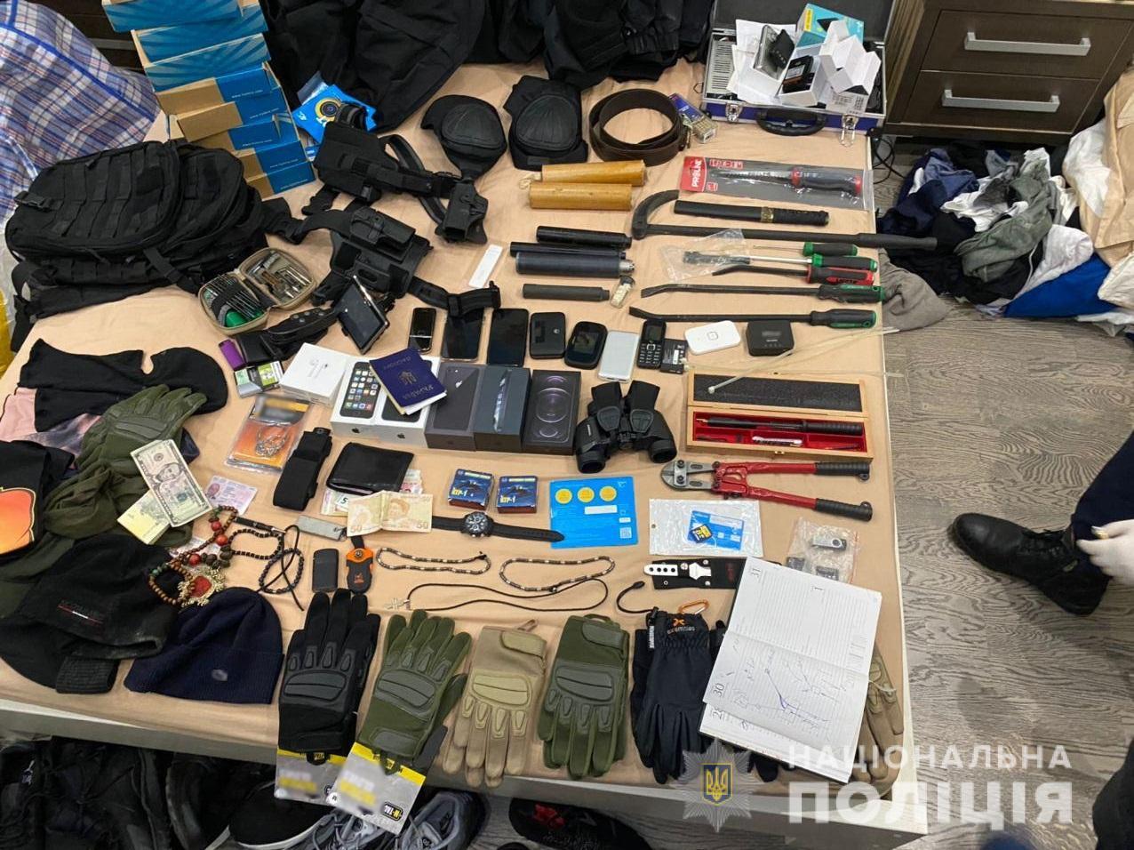 На Київщині викрили транснаціональну злочинну організацію (відео) - іноземець, злочинна група, зловмисники - zlochynna grupa 7