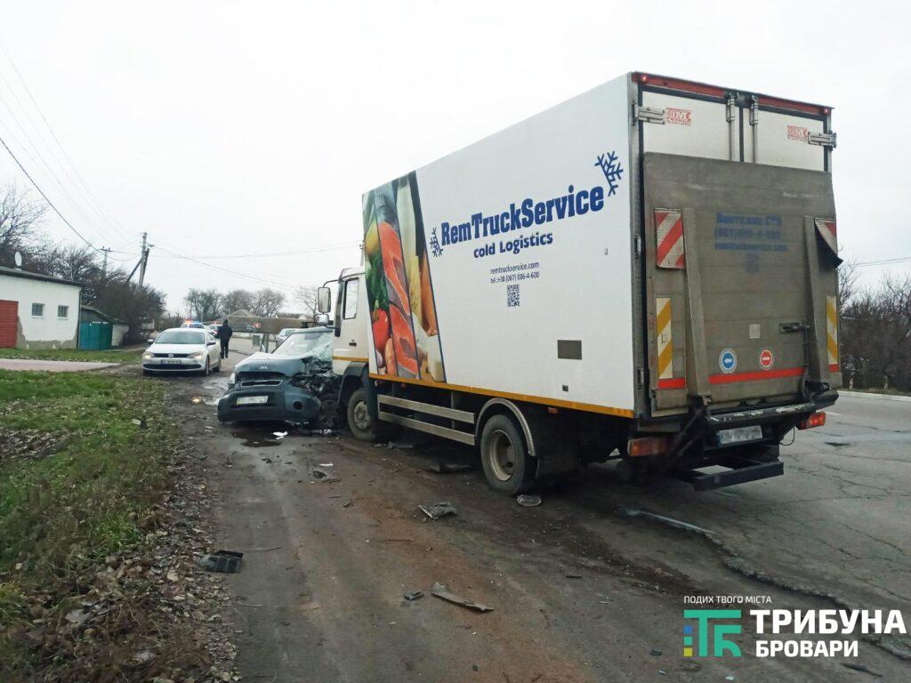 Під Броварами у ДТП з вантажівкою постраждав дідусь - постраждалий, вантажівка, Аварія на дорозі - 12 1024x768 1