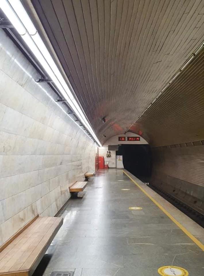 Станцію столичної підземки оснащують сучасним освітленням - освітлення, Київський метрополітен - 137303851 2823553277892069 2102707005398072961 n
