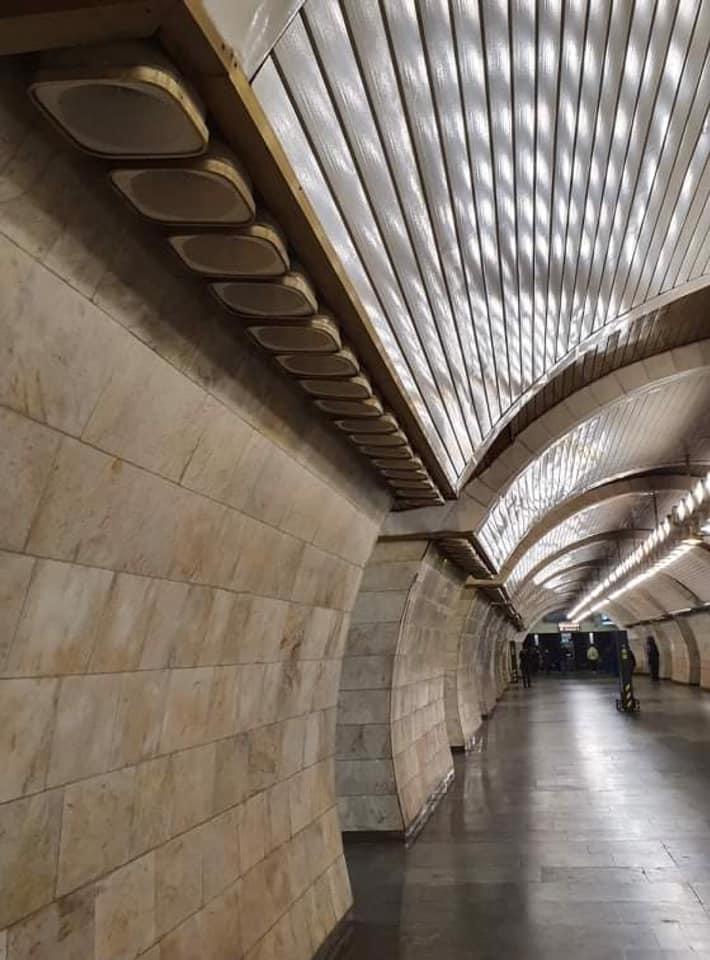 Станцію столичної підземки оснащують сучасним освітленням - освітлення, Київський метрополітен - 138558124 2823553301225400 1782980568987621767 n