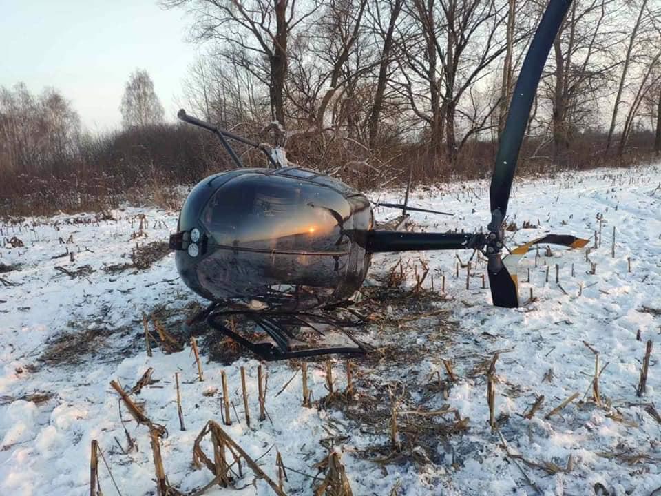 В Бориспільському районі розбився вертоліт - вертоліт, Аварія - 139237082 3178198315740486 79506913529941354 n